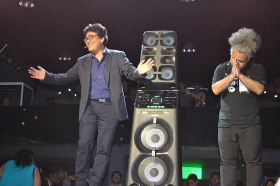 Fiesta de lanzamiento de Sony Muteki en México. Resonancia Magazine